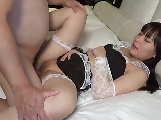 Cute And Unsophisticated In Maid Costume Sucks And Fucks