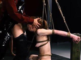 Bondage machine as a lark Erotic youthful girls, Alexa Nova and