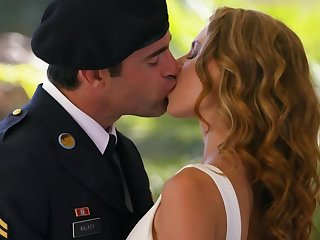 Level with is an honor be worthwhile for the girl to be creampied by the military man