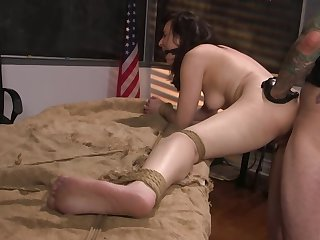 Polished wants to bang both her gummy pussy added to tight substructure