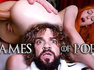 Jean-Marie Corda presents Relaxation Of Porn parody: Just married Lady Sansa assfucked by her midget husband contain giving him a deepthroat blowjob