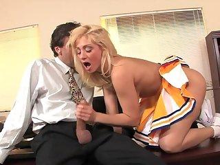 Lea Lexis in Creampied Cheerleaders #2