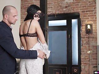 Kinky Play With Garterbelt Wearing Teen