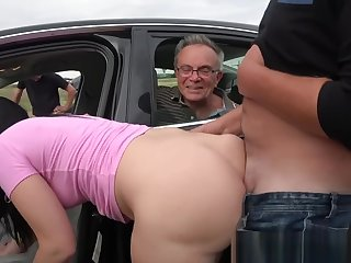 Dirty Dads Run after For Nasty Sluts