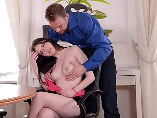 Tantalizing Babe With High Heels Gets Copulated In Butt