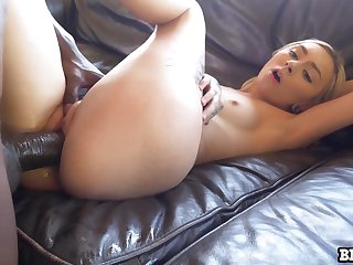 Pale cutie with natural small tits Chloe Temple works greater than monster BBC