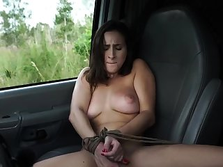 French maid bondage and conceitedly dildo domination This new
